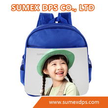 Sublimation Blank Backpack, School bag, Sublimation transfer printing backpack