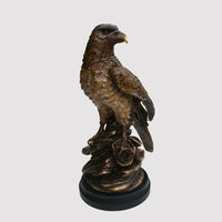 Middle size resin eagle statue, eagle statues for sale