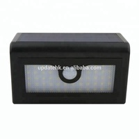 Wireless auto lighting outdoor 50led wall mounted lamp solar pathway light