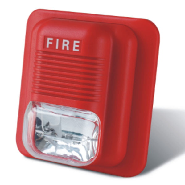 Sensor Fire Alarm Sound : Security alarm system sound fire strobe siren with ce