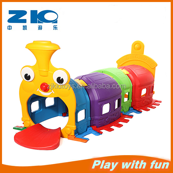 Kids tunnel climbing toys for baby inoor play children plastic slide