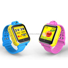 2017Indispensable Factory price Bbluetooth tracker feature android gsm gps kids security smart watch