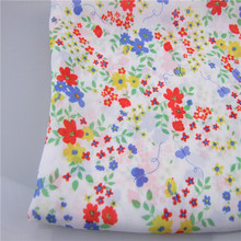 Wujiang drapery breathable 75D floral printing 100%polyester silk crepe fabric for clothing