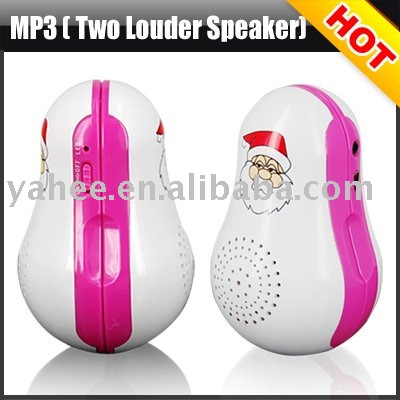 Digital MP3 Player with Two Super Audio Quality Speaker,YHM-MT01