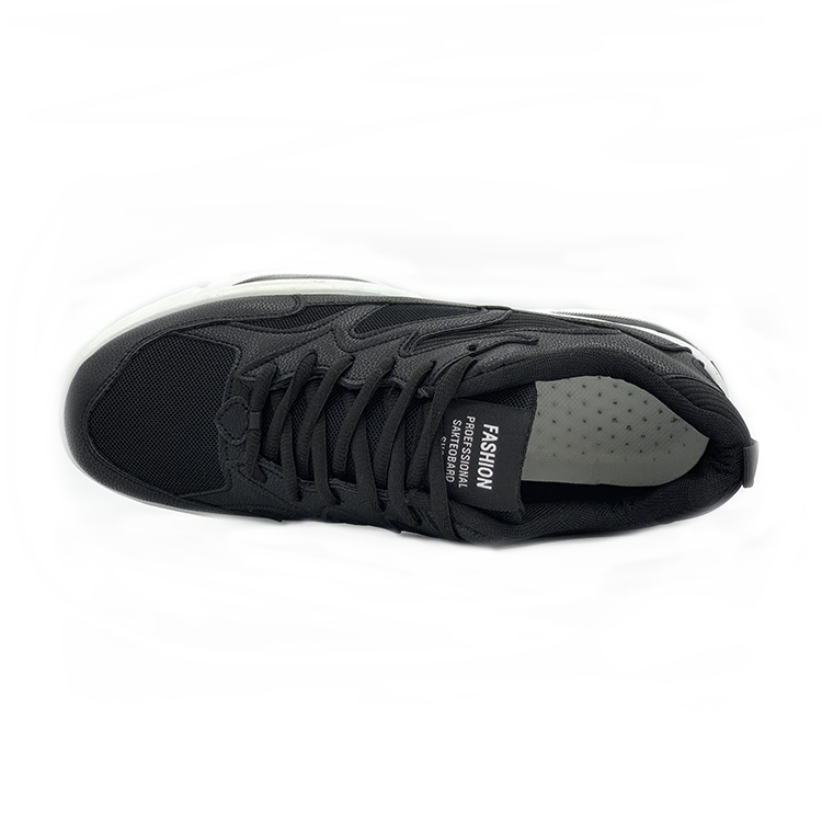 New style lace up PVC sheet with flying woven surface breathable honeycomb insole Flying weave men shoes
