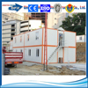steel prefab flat pack office container house