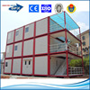 flat packing steel prefab container house