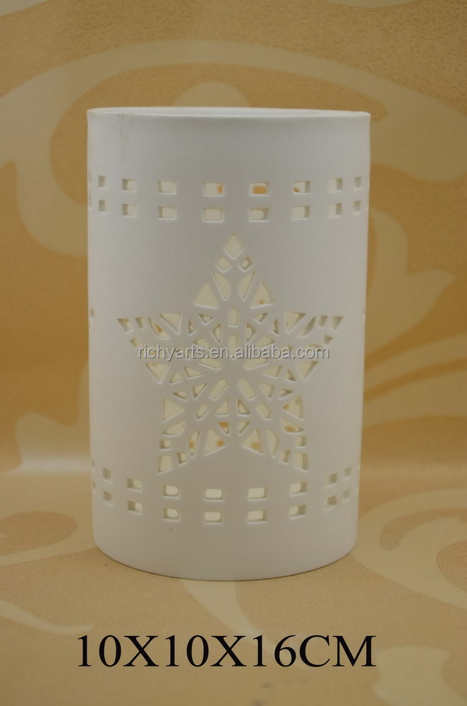 new design ceramic tealight candle holder for wholesale