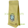 OEM High Quality Resealable Plastic Box Bottom Empty Tea Coffee Bag