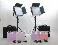 Photographic Equipment 2pcs 900 LED Video Broadcast Lights Studio Film Lighting