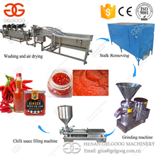 High Quality Paste Maker Hot Pepper Chili Sauce Making Machine For Sale