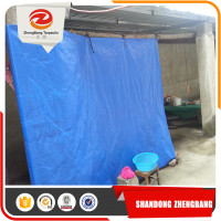 High Efficiency Clear Green Pe Tarpaulin Sliver Pe Tarpaulin Packed In Rolls