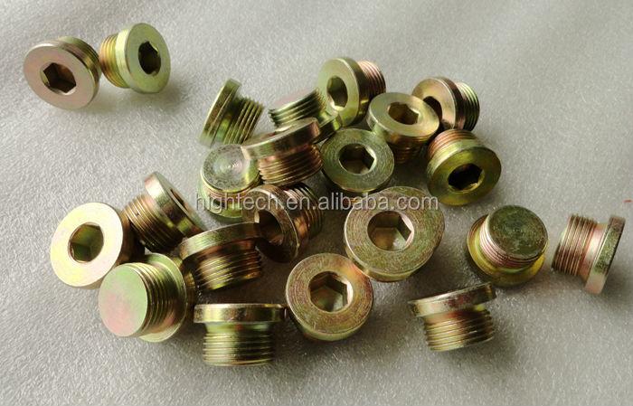 Stainless steel hex thread plug buy