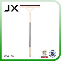 long handle glass wiper with squeegee for cleaning window