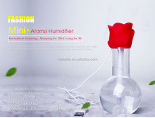 ultrasonic eletric aroma diffuser, Portable Air Purifier and Humidifier, Fresh and alive Design!