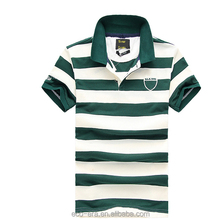 Cheap Price Sublimated Striped T-shirt Mens Polo Wear