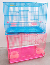 Factory Direct Sale Pet Products Cage Wholesale Customized Folding Metal Breeding Bird Cage