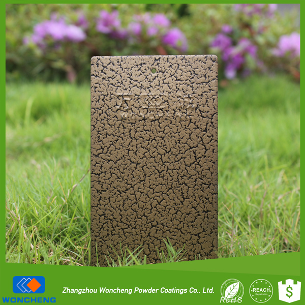 Electrostatical Spray Paint With Decorative Crack Effect
