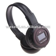 Super bass headphone/SD card read Mp3 headphone/ headphone mp3 player