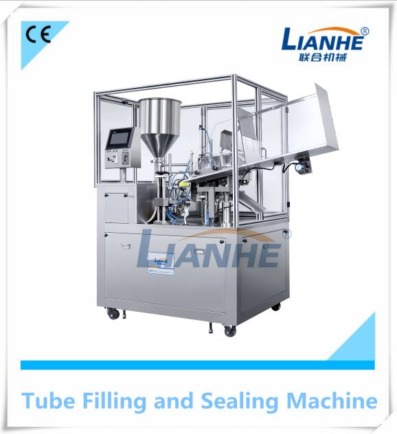 Pharmaceutical Ointment Paste Aluminum Tube Filling Sealing Machine