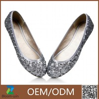 2016 high quality diamond crystal ballet shoes GuangZhou made in China