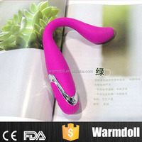 100% Waterproof Bendable Vaginal Anal Vibrator For Men