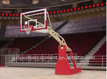 FIBA Electro-hydraulic basketball stand/goal/hoops for sale