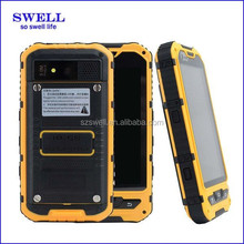 4inch android4.4 rugged phone IP68 industrial pad dual sim wcdma gps wifi FM A8S