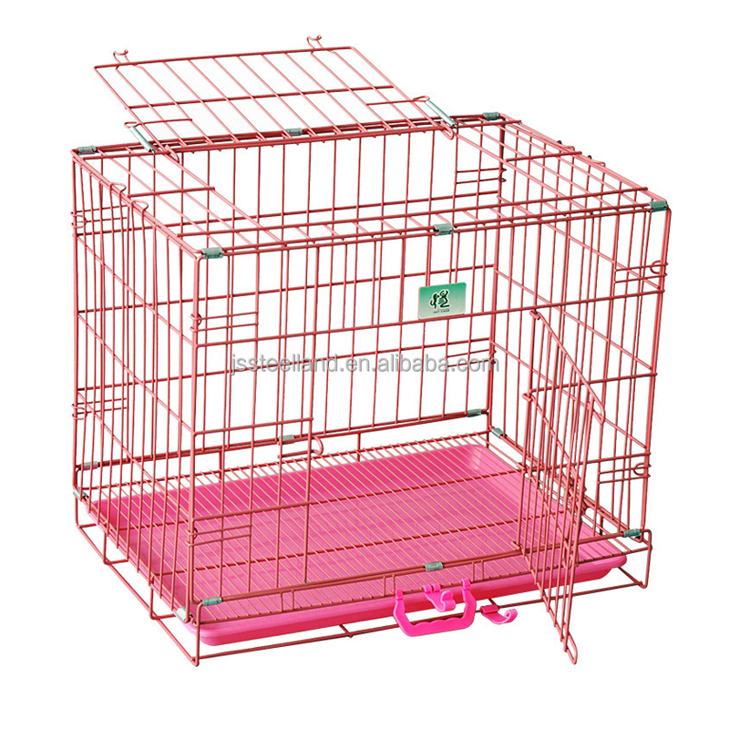 Popular Folding wire mesh dog cages for Asia market