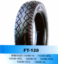 Motorcycle tire 110/90-16 TL for Mexico market