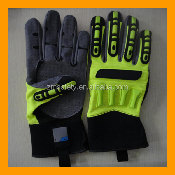 Oilfield Ringers Knuckle Protection Gloves
