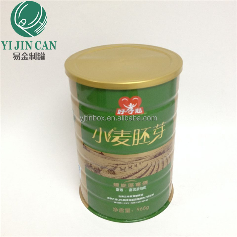 Guangdong metal large round tin can for 502 #powder milk