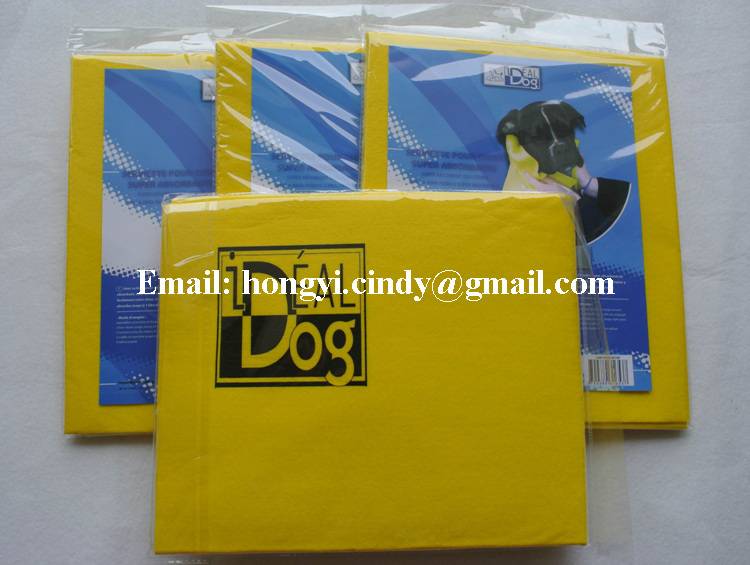 Logo printed super absorbent and soft nonwoven pet drying towels, pet drying cloth