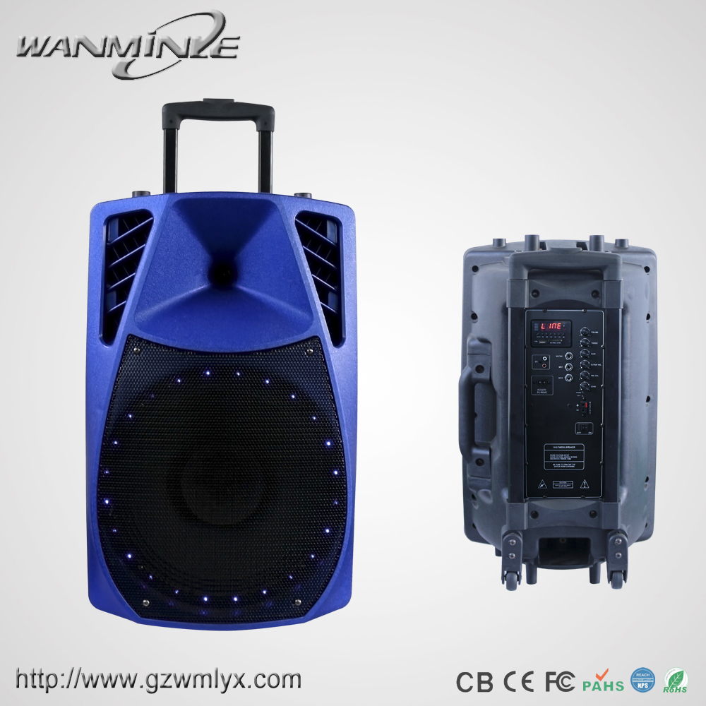 15inch Power Dynamics Audio Equipment CE Rohs Wanminle Speaker Box