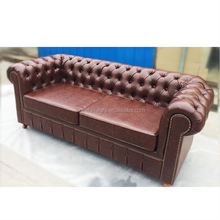 french antique living room furniture chesterfield fabric/pu sofa, couch living room sofa