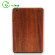 2014 Best quality customized detachable blank wood case for Apple IPad mini
