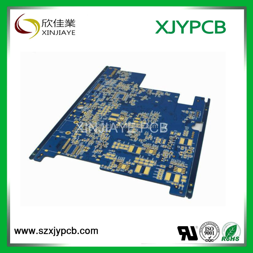 Solder resist double side pcb, high frequency printed circuit board