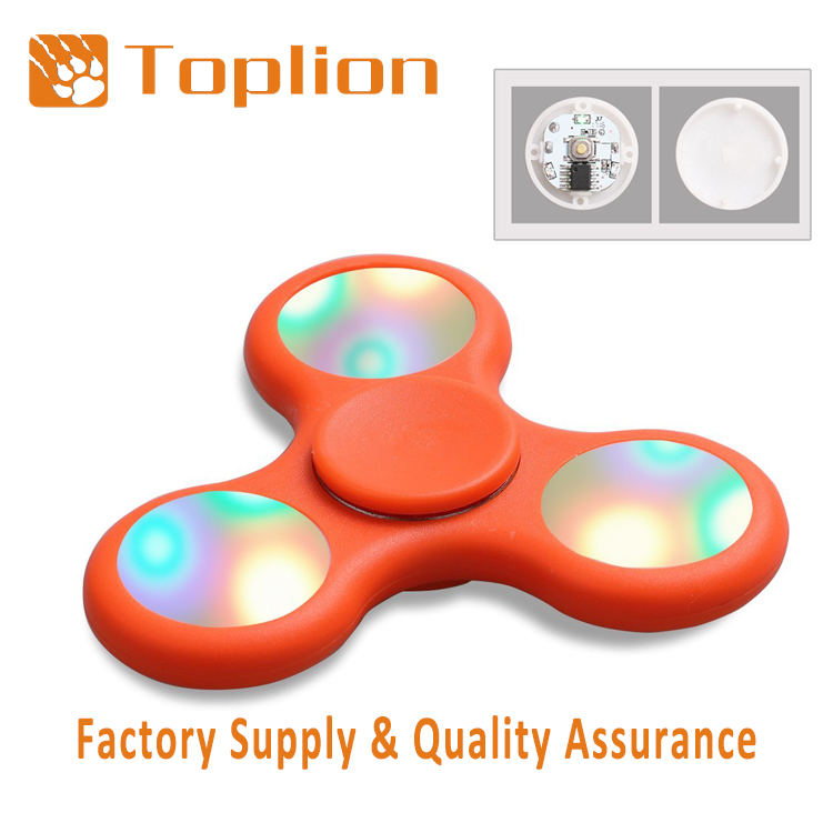 2017 New Arrival fidget toy led light hand spinner relieves Stress bulk cheap