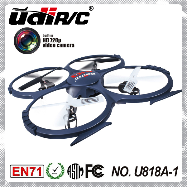 UDI U818A -1 4CH 6 axis gyro with camera rc professional drone for sale