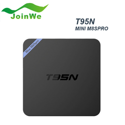 Best Selling T95n Mini M8s Pro 2gb/8gb Amlogic S905 Android Tv Box Android 5.1 Smart Tv Set Top Box Wifi 16.0 Kodi
