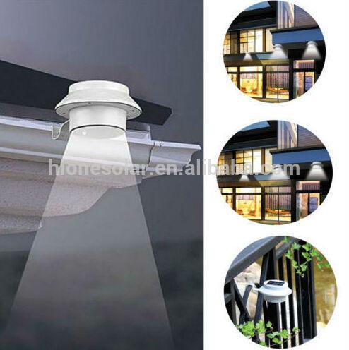new led solar garden wall light fence wall bracket light fitting portable solar led outdoor wall light