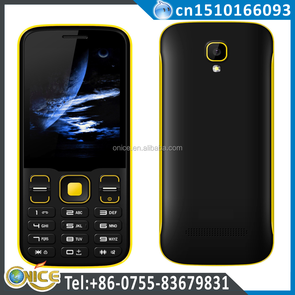 New Mobile Phone Cheapest 3g Feature Phone Made in China 2.8'' S310 MTK6572 WCDMA 850/2100MHz and GSM
