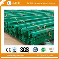 Roadway Construction Steel Hot Dip Galvanized Anti-aging Guardrail