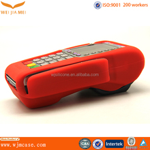 soft silicone sleeve case for POS terminal protect cover for POS