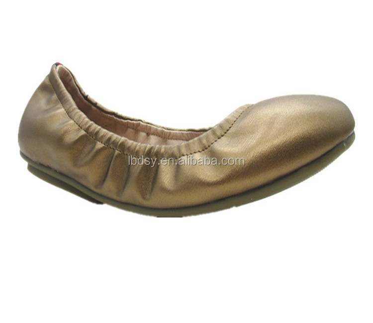 2015 fashion foldable ballet shoes flats
