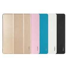 Luxury For iPad Air 2 Rock Smart Sleep Magnetic PU Leather Flip Case