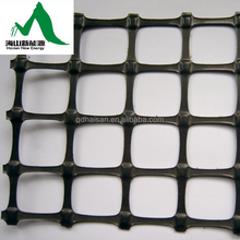 Biaxial Geogrid type using usa pp plastic raw material for soil stabilization