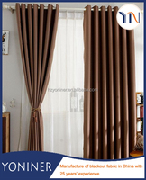 High density blackout full dull hotel curtain fabric High-quality curtain fabric flame retardant curtain fabric