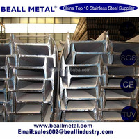 Stainless steel i beam/wide flange h beam i beam supplier manila philippi/metal structural Stainless steel i beam price