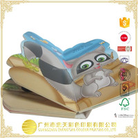 Top Quality Hardcover Children Book Printing, Well designed Pop up Children Book